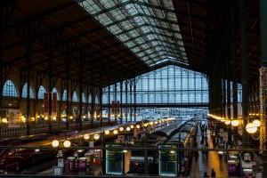 תחרות ויקיפדיה אוהבת אתרי מורשת, 2014: מקום שני - תמונת תחנת הרכבת Gare du Nord בפריז, צרפת