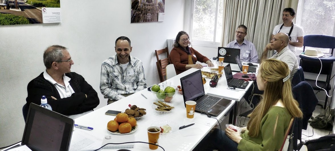 מפגש עורכים במשרדי ויקימדיה ישראל