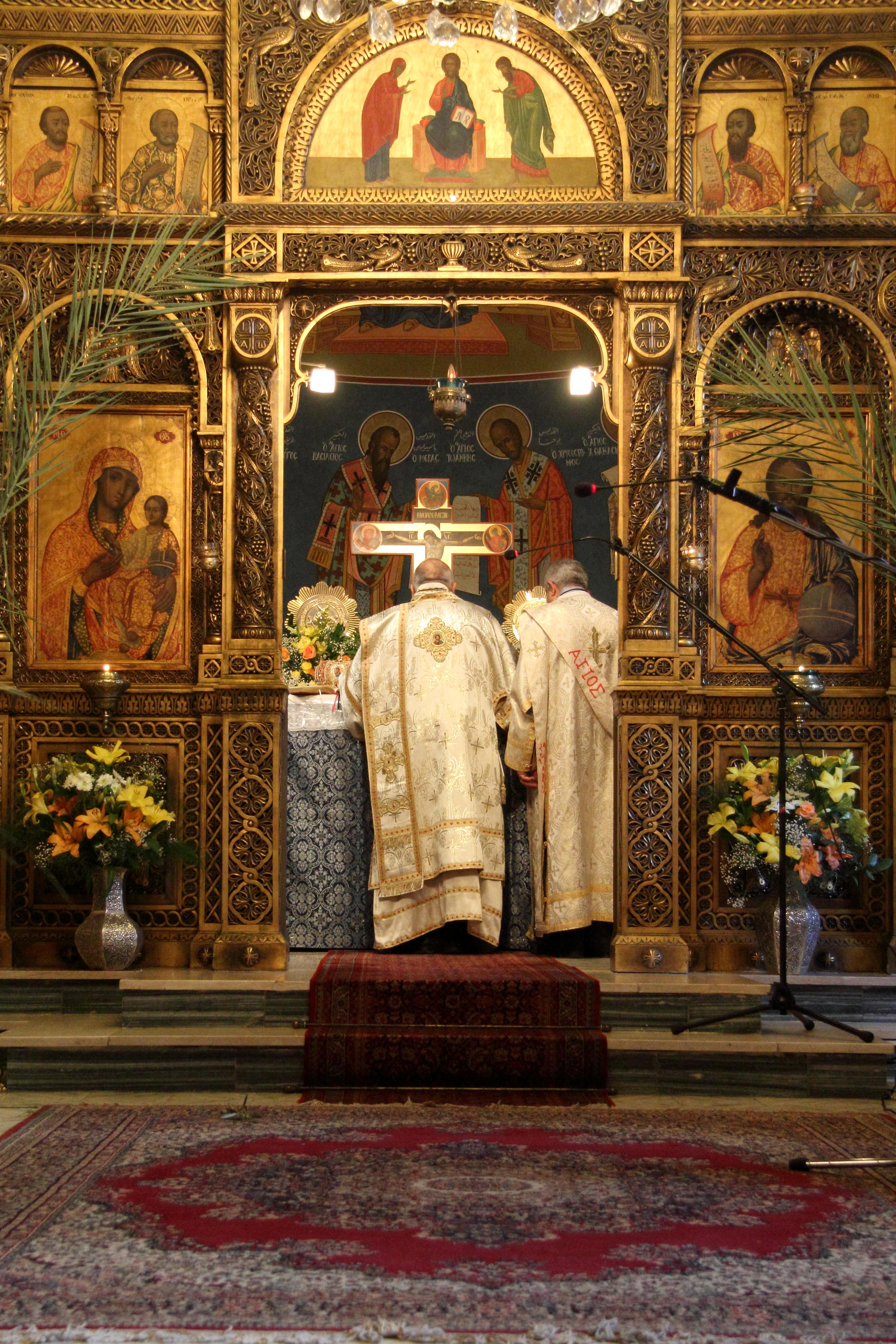 הכנסייה היוונית קתולית בירושלים צילום: ליזי שאנן, CC-BY-SA 4.0 https://commons.wikimedia.org/wiki/File:%D7%94%D7%9B%D7%A0%D7%A1%D7%99%D7%94_%D7%94%D7%99%D7%95%D7%95%D7%A0%D7%99%D7%AA-%D7%A7%D7%AA%D7%95%D7%9C%D7%99%D7%AA_2.jpg