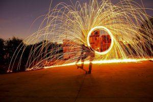 חשיפה ארוכה - תמונה מאת  Yuval perez, בית חינוך אופק, עברון